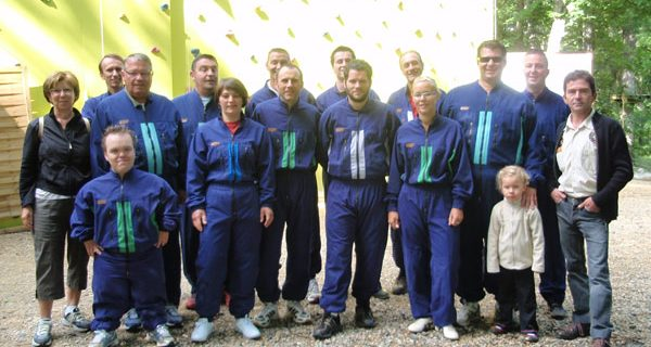 Sortie Accrobranche-Paintball
